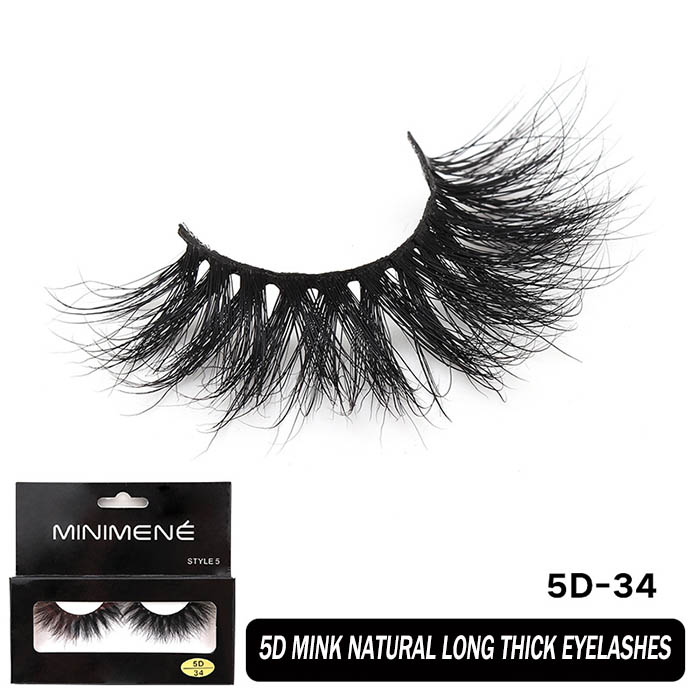 25mm mink lashes with your logo