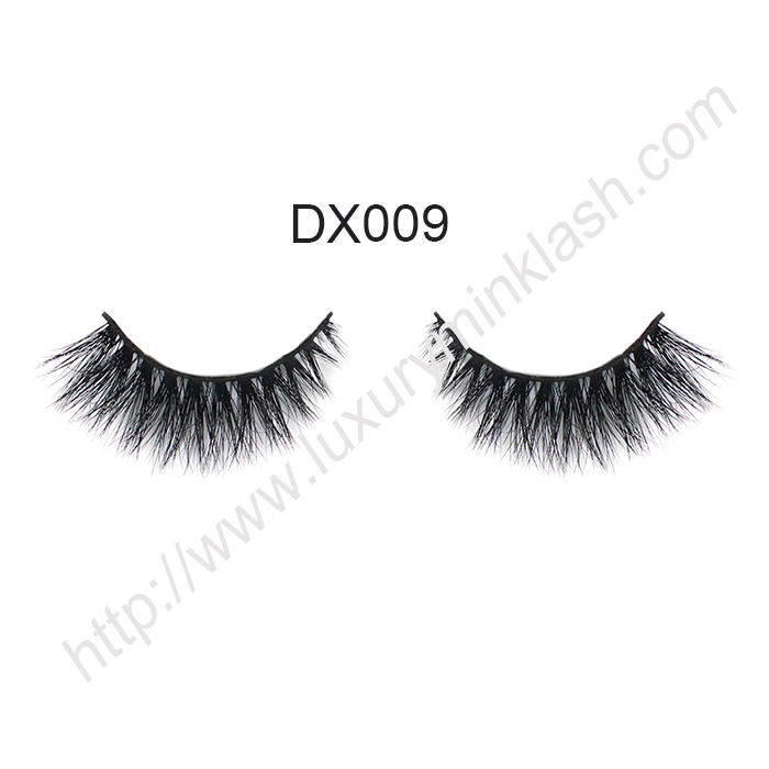 Factory Supply Wholesale 3D Mink Fur Strip Lashes