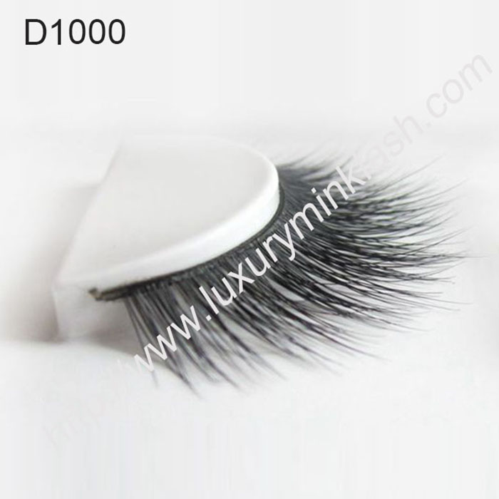 hot  selling Black Real Siberian Mink Lashes