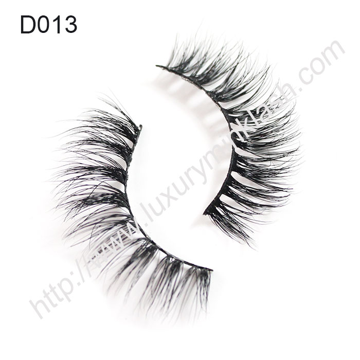 3D Mink Strip Lashes Factory D013