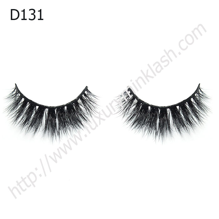 3D Mink Strip Lashes Manufacturer D131