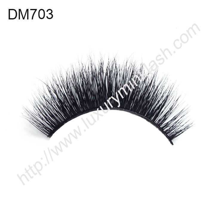 3D Mink Strip Lashes Supplier DM703
