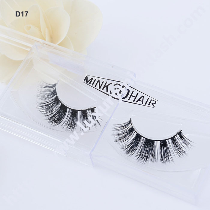 3D Mink Lashes With Label Logo