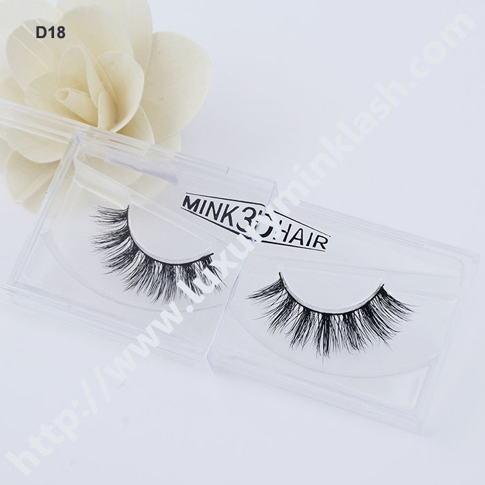 Hand Made 3D Mink Fur Strip Eyelash
