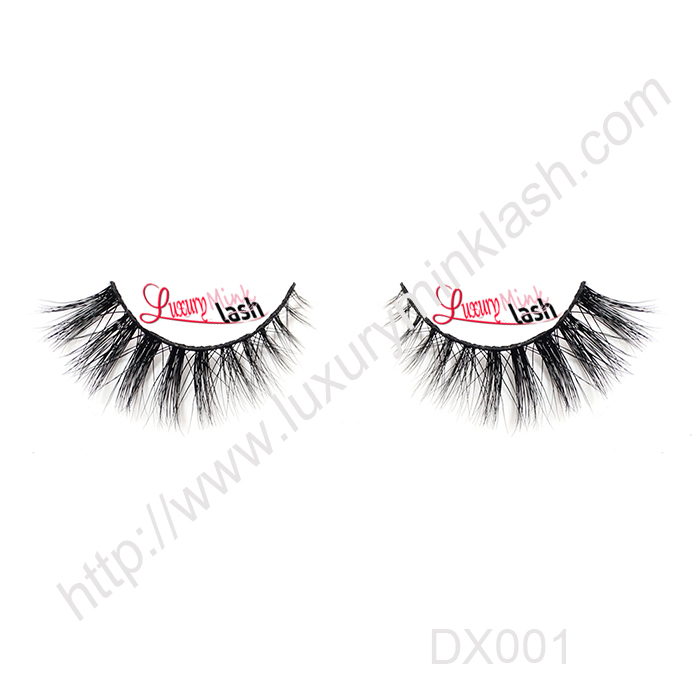 Luxury 3D Mink lashes-MX001