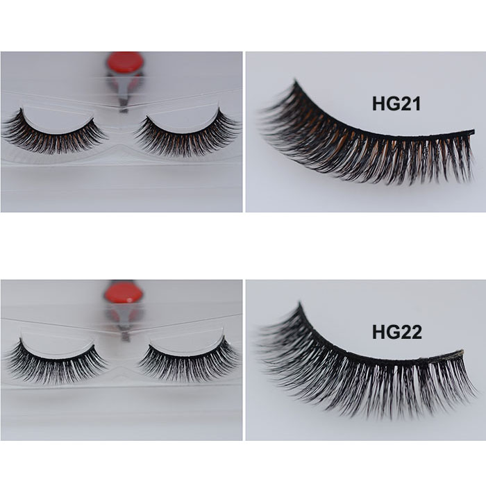 Invisible Band 3D Silk Lashes Wholesale