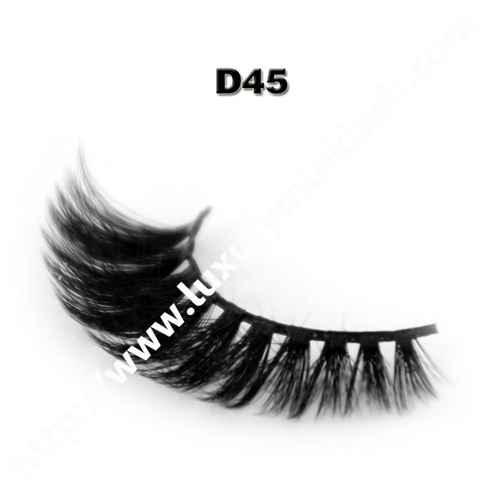 3D Velour Eyelashes wholesale-D45