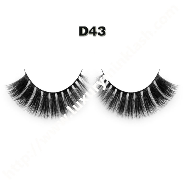 3D Velour Eyelashes wholesale-D43