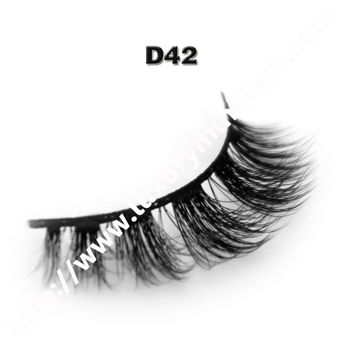 3D Velour Eyelashes wholesale-D42