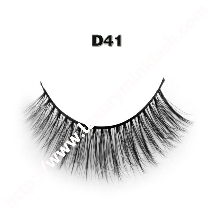 3D Velour Eyelashes wholesale-D41
