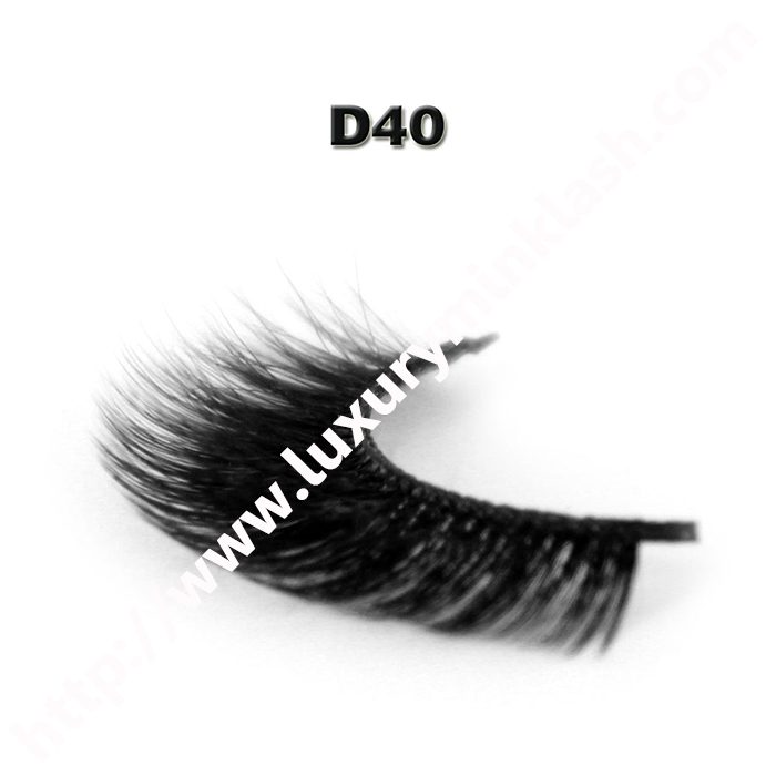 3D Velour Eyelashes wholesale-D40