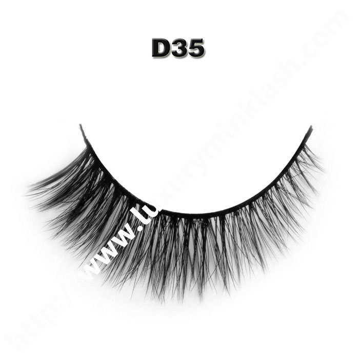 3D Velour Eyelashes wholesale-D35