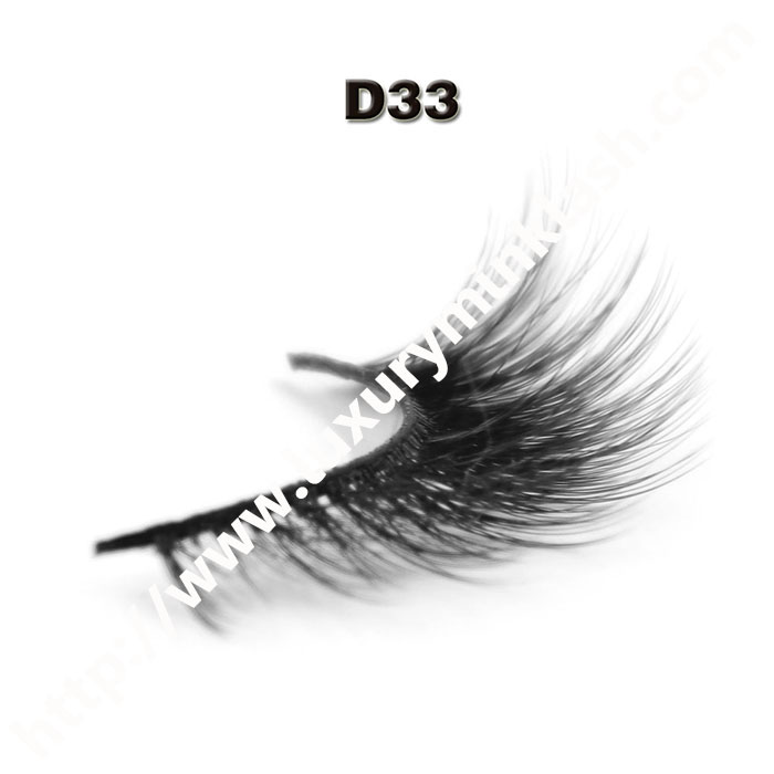 3D Velour Eyelashes wholesale-D33