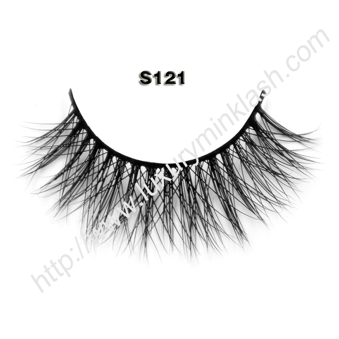 3D mink lashes uk S121
