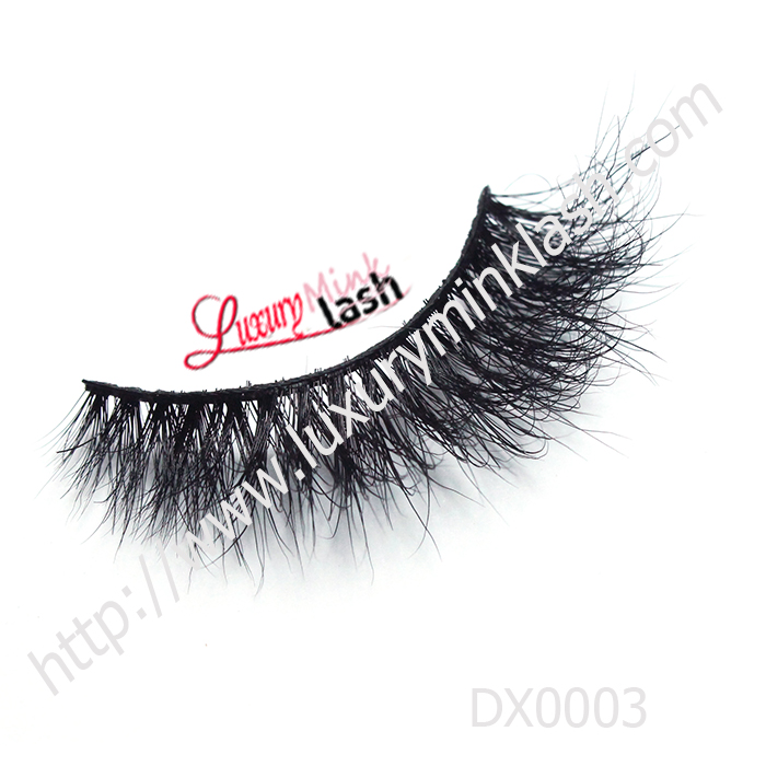 3D real mink fur lashes