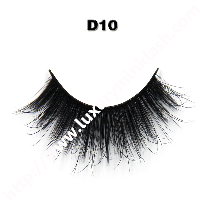 Hot sale 3d silk lashes in custom package