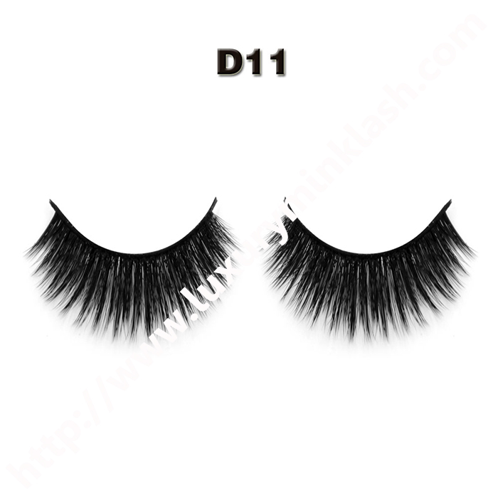 Hot selling private label 3d silk eyelashes