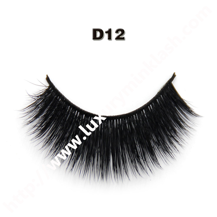 3D silk lashes wholesale-D12