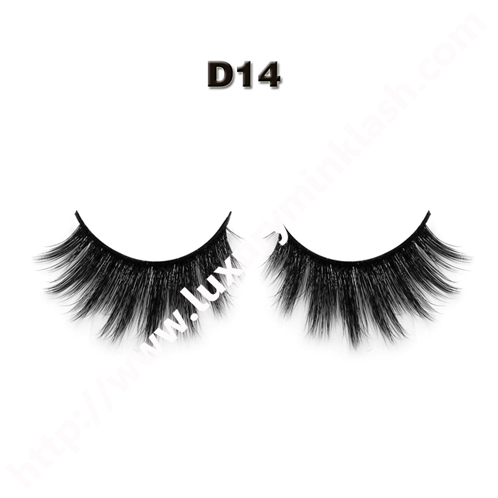 3D silk eyelashes  private label