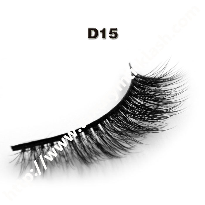 3D silk lashes wholesale-D15