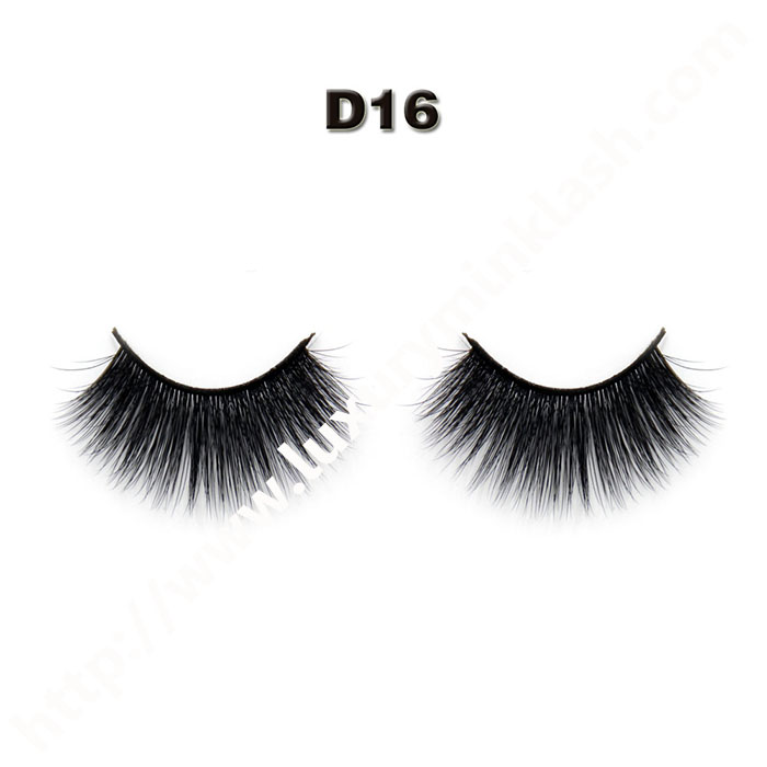 Siberian 3D silk lashes with custom package