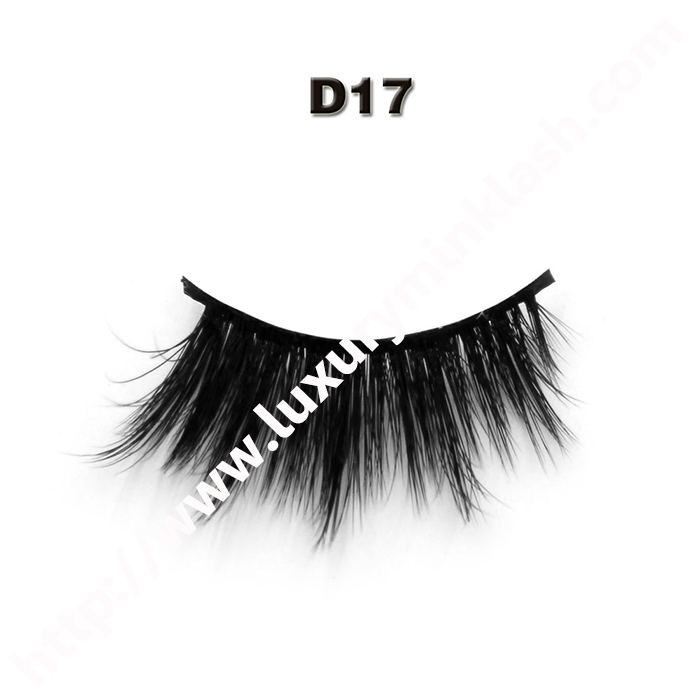 Private Label Natural Looking 3D Silk Fur Lashes,Private
