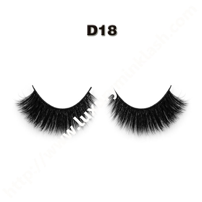 3D silk lashes wholesale-D18