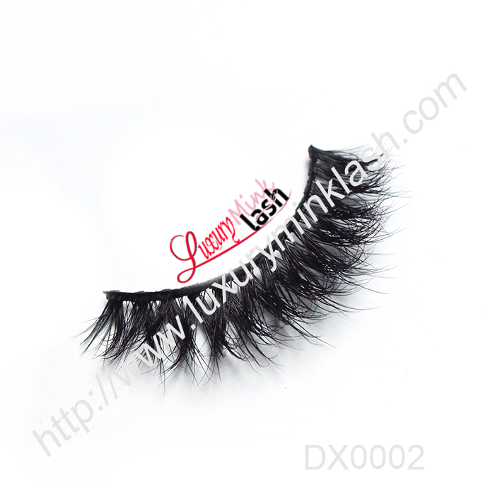 3D volume mink strip eyelashes