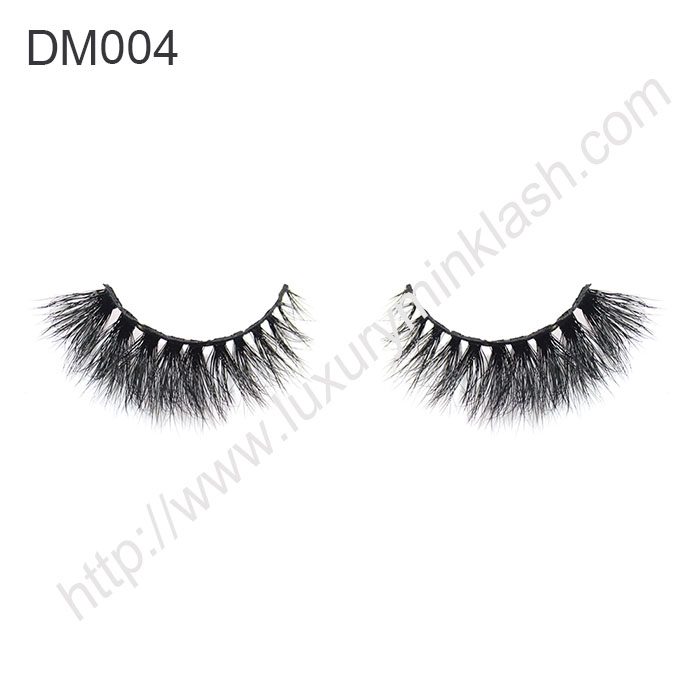 3d Mink Fur Lashes Factory DM004