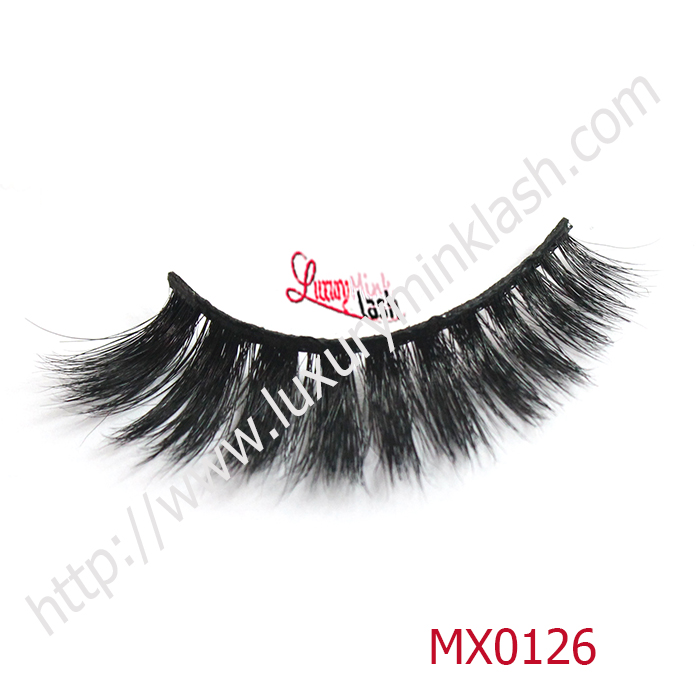 Best Black Real Siberian Mink Eyelashes