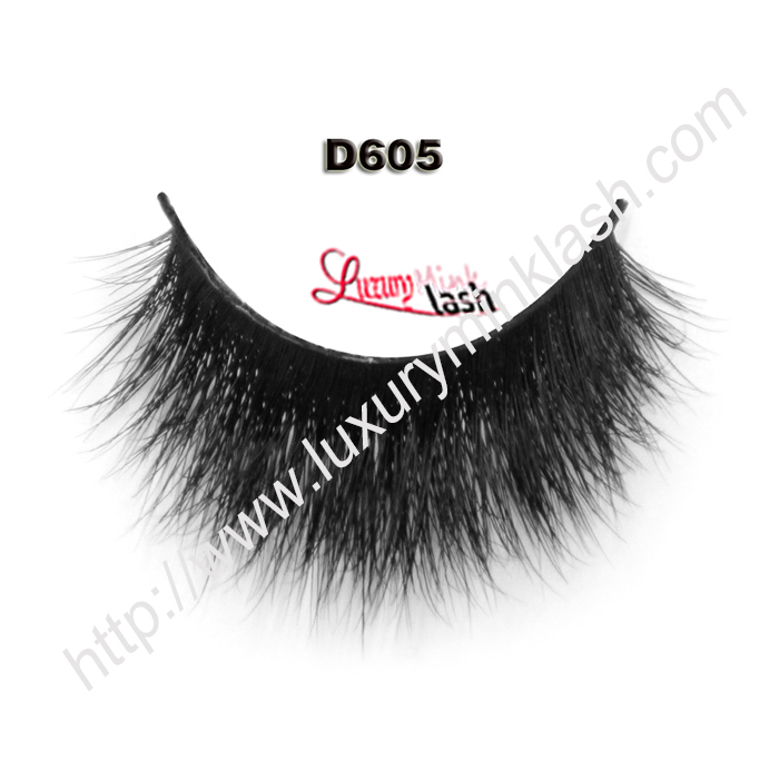 Private Label Cheap 3D Mink Lashes D605