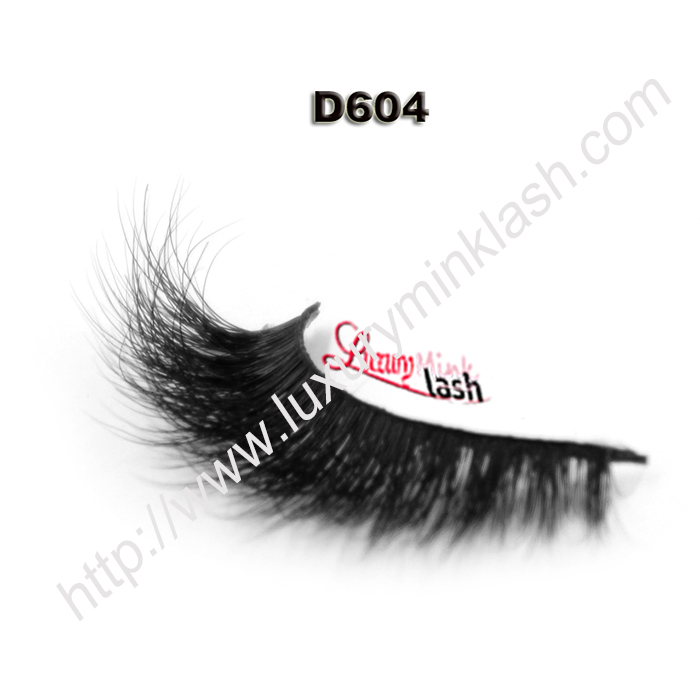 Full Handmade 3D Mink Lashes D604