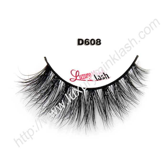 Faux 3D Mink Lash Collection D608