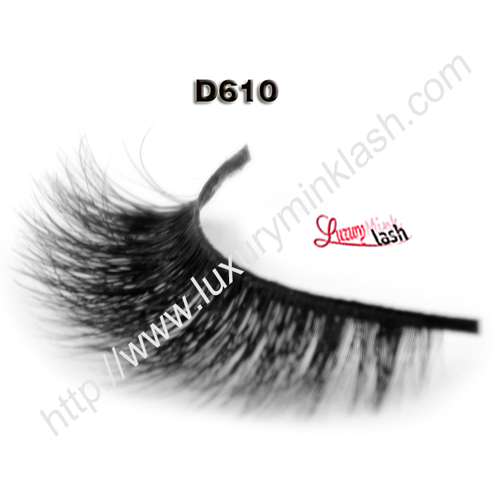 Top Quality 3D Mink Lashes D610