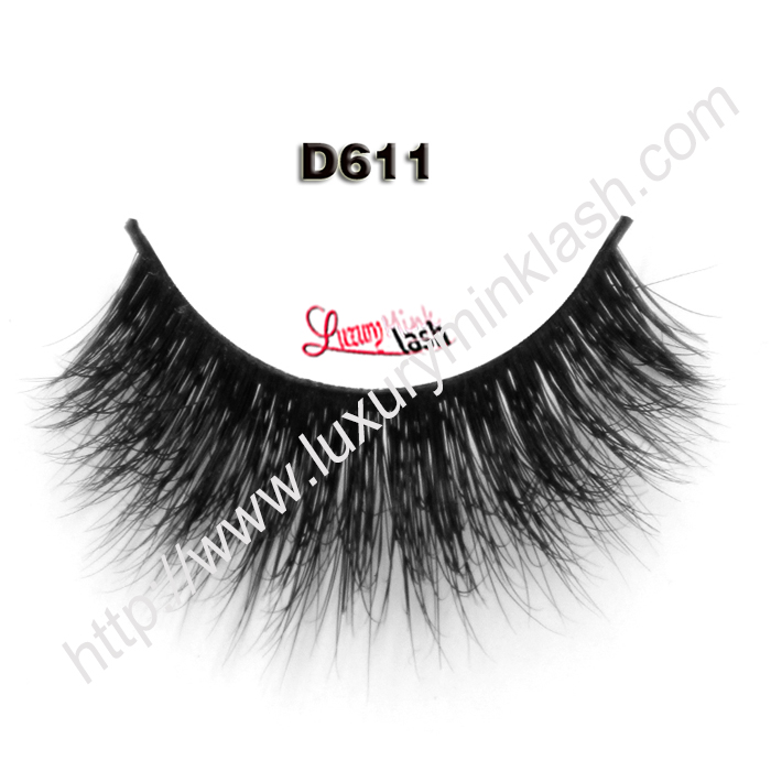 Hot Selling Style 3D Mink Lashes D611