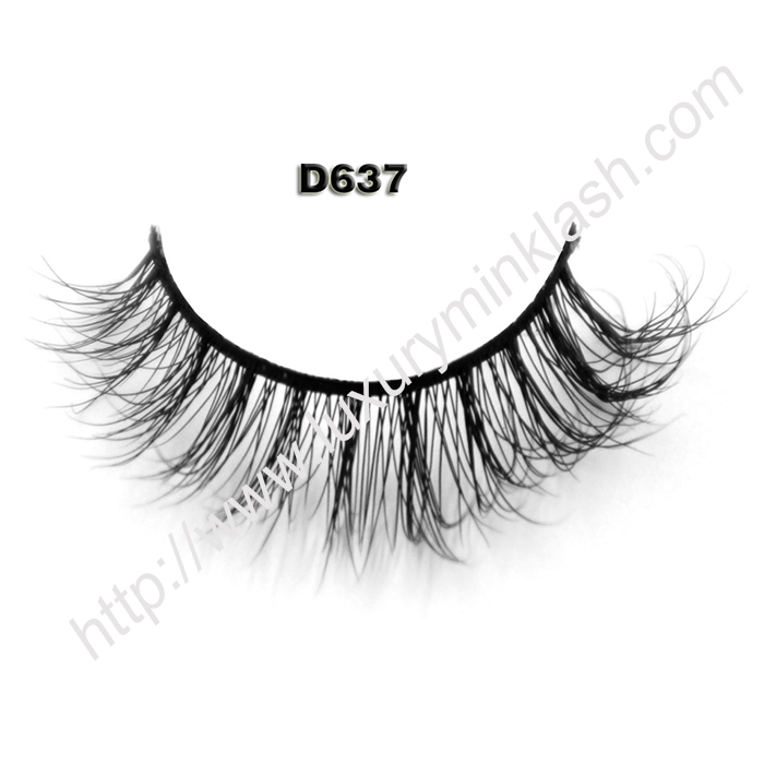 Wholesale Eyelashes Mink D637