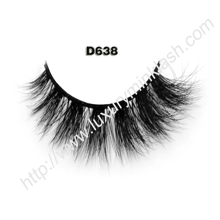 Wholesale 3D Mink Eyelashes D638