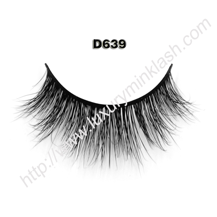 3D Mink False Lashes Wholesale D639