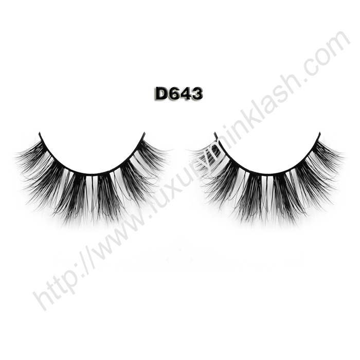 Mink Lashes Wholesale D643