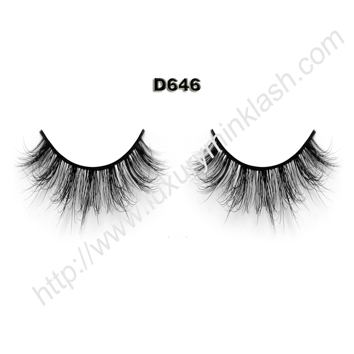 3D False Lashes Manufacturer D646