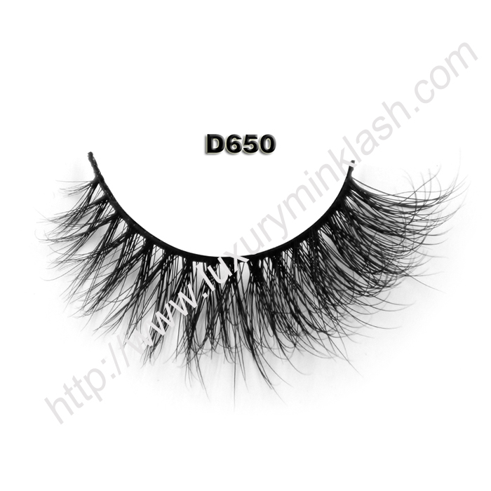 3D Mink Lashes Wholesale D650