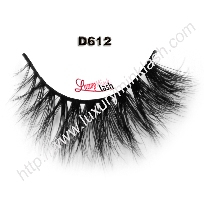 Real Premium 3D Mink Lashes D612