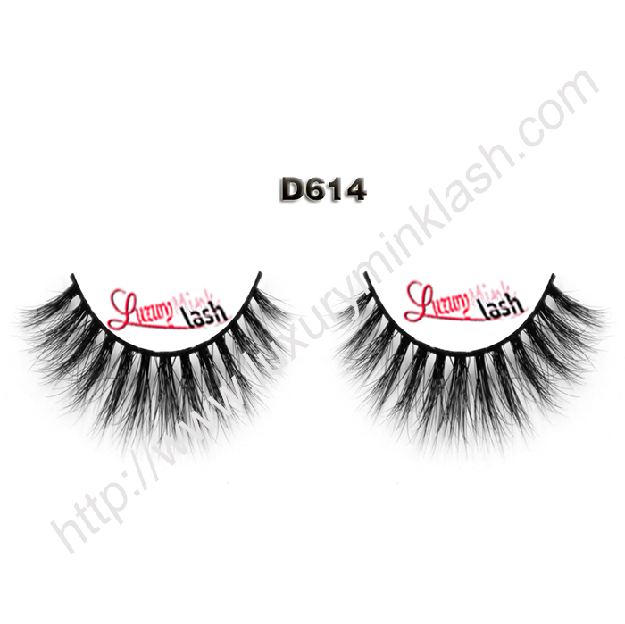 Private Package 3D Mink Lashes D614