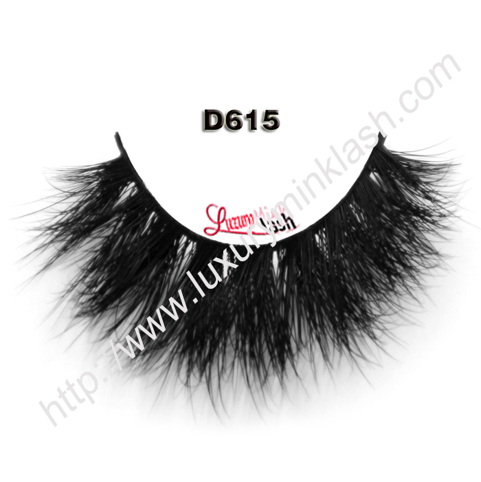 Real Glossy 3D Mink Lashes D615