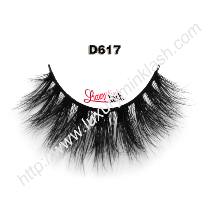 Beautiful 3D Mink Eyelashes D617