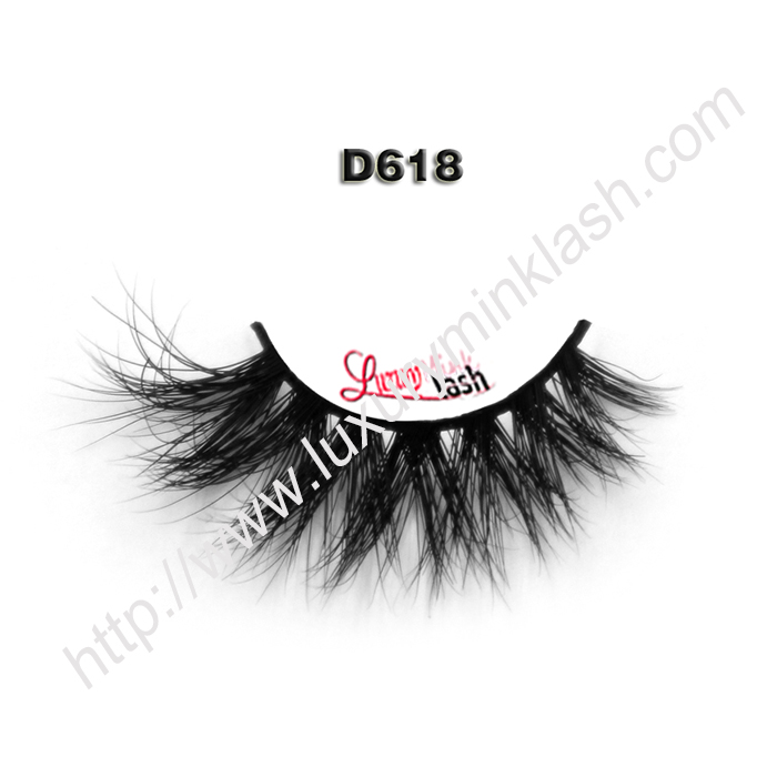 3D Mink Lashes Wholesale Suppliers D618