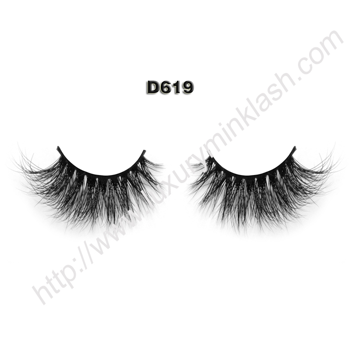 China 3D Mink Lashes D619