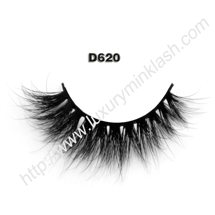 Best 3D Mink Eyelashes Manufacturer D620