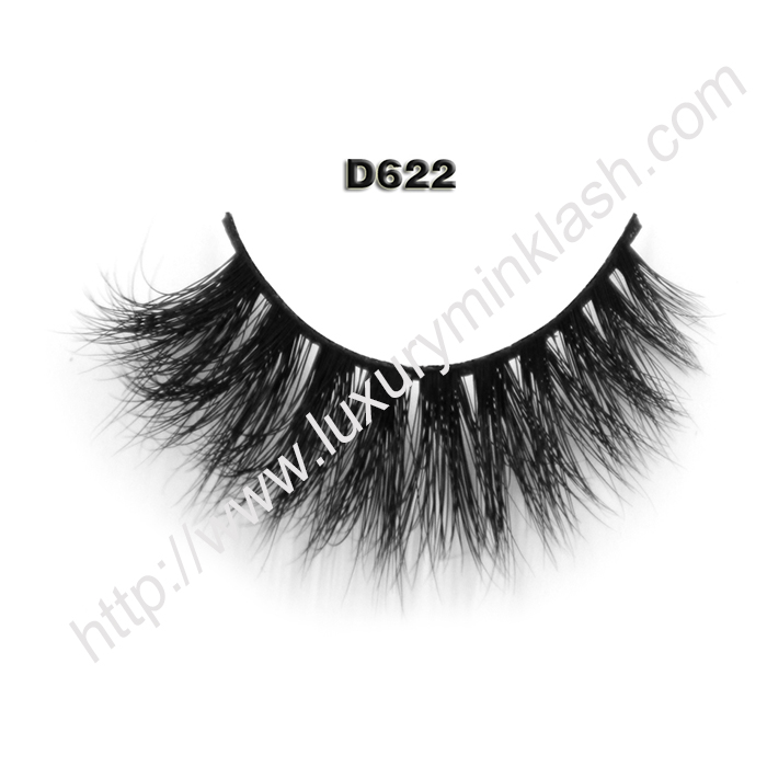 Best 3D Mink Fur Fake Lashes D622