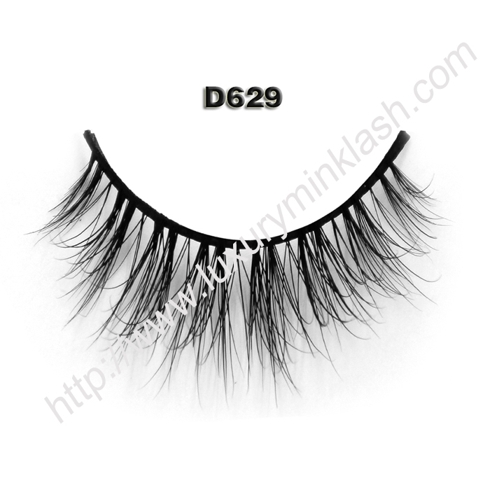 Private Label 3D Mink Lashes D629